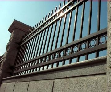 镀锌钢制围墙护栏lx-03
