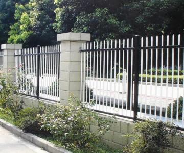 镀锌钢制围樯护栏lx-06
